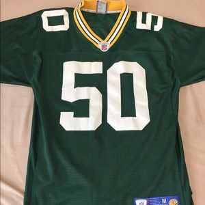 Reebok Green Bay Packers AJ Hawk Jersey